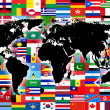 World map — Stock Photo #3130240