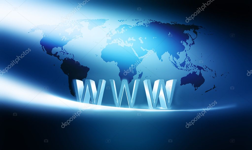 Modern internet concept background  — Stock Photo #3363492