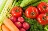 Vegetables for health — Stock Photo