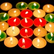 Color light candle — Stock Photo #2885755