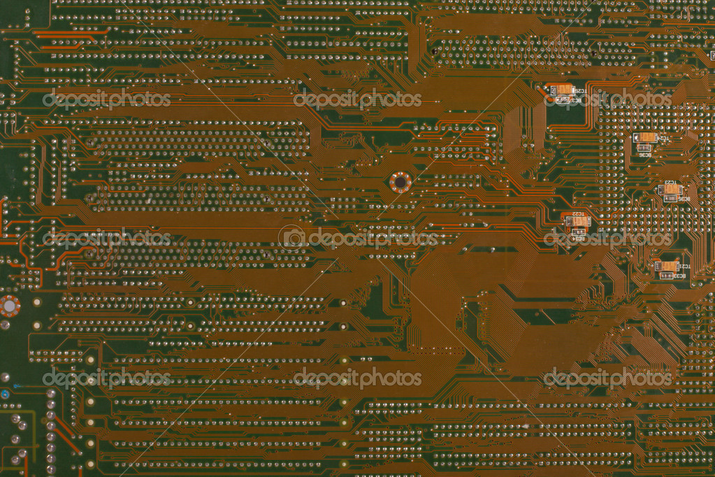 Details of a computer motherboard — Stock Photo #2974185