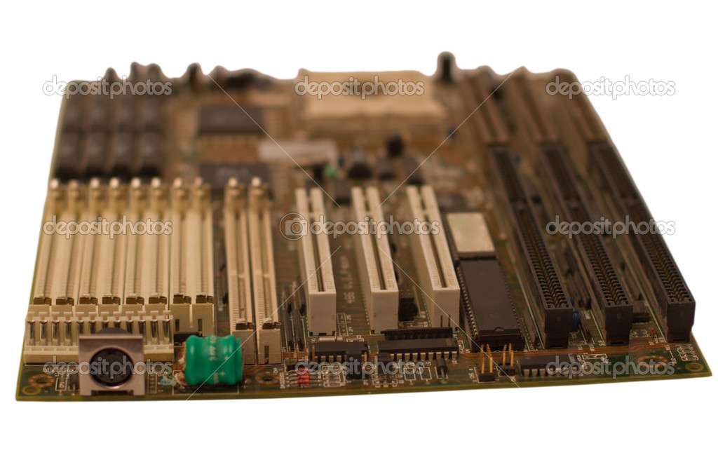 Details of a computer motherboard — Stock Photo #2974208