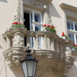 Balconies in Lviv - Stock Photo