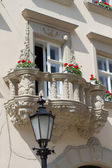 Balconies in Lviv — Stock Photo