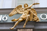 The gold Angel — Stock Photo
