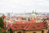 View on the Prague — Stockfoto