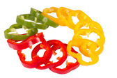 Ring of pepper — Stock Photo