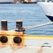 Stock Photo: Ship's Mooring