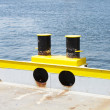 Stock Photo: Mooring bollard