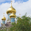 Stock Photo: Russiorthodox church cupolas