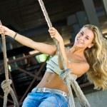 Swinging — Stock Photo