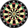Vector dart board — Stock Photo #2861470