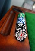 покер таблицы — Стоковое фото