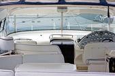 кокпит скорость лодки — Стоковое фото