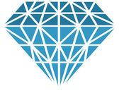 Vector diamond — Stock Photo