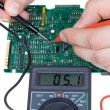 Stock Photo: PCB diagnostics