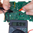Royalty-Free Stock Photo: PCB diagnostics