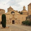 Monastery of Poblet — 图库照片