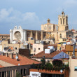 Tarragona cathedral view from Praetorium — Stock Photo #3920441