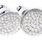 Newest LED light bulb — Stock Photo