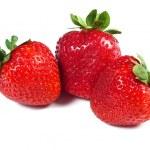 Strawberries on white background — Stock Photo