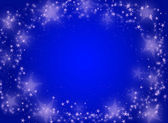 Blue background with stars — Stock Photo
