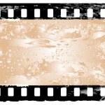 Grunge filmstrip frame — Stock Vector