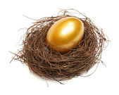Gold egg — Stock Photo