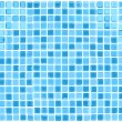 Stock Vector: Vector Seamless Blue Tiles Background