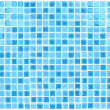 Vector Seamless Blue Tiles Background - Stock Vector
