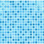 矢量无缝蓝色瓷砖背景 — 图库矢量图片