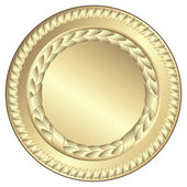 Gold medal — Stock Vector