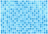 Vector Seamless Blue Tiles Background — Stock Vector