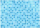Vector Seamless Blue Tiles Background — Stock Vector