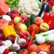 Fresh Vegetables, Fruits and other foodstuffs - Stock Photo