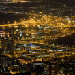 Stock Photo: Cape Town at night