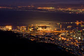 Cape Town at night — Stock Photo