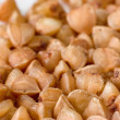 Stock Photo: Buckwheat grains close-up