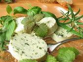 Herbs butter — Stock Photo