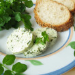 Herb butter with watercress — Stock Photo #3090153