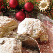 Stock Photo: Little christmas stollen, Stollenkonfekt