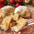 Stock Photo: Little christmas stollen – Stollenkonfek