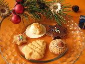 Christmas cookies - Weihnachtsplätzchen — Stock Photo