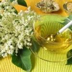 Elderflower tea - Holunderblütentee — Stock Photo #3322865