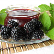 Homemade blackberry jelly — Stock Photo #3722220
