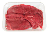 Meat packaging. Isolated — Stock Photo