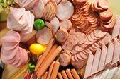 Carne fría — Foto de Stock