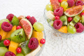 Fruits and berries salad — Stock Photo
