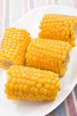 Cobs on the corn — 图库照片