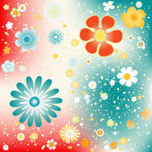 Flowers background design — Stock Photo